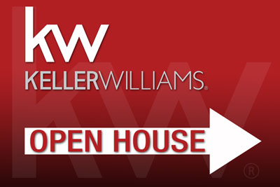Kw open house yard sign 18 wide x 12 tall new design for House sign designs