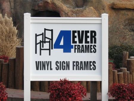 Standard Vinyl Sign Frame Marrvelous Signs Amp Designs
